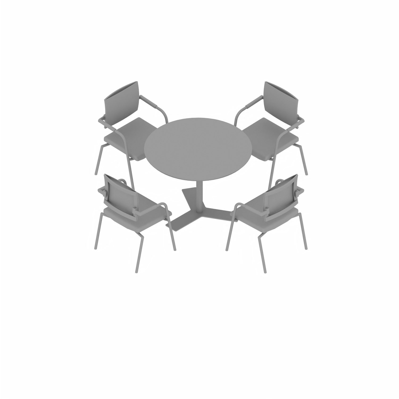 06xx, 07xx & 08xx Faste bord runde ben med Y fot